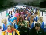 En camino al Osu Parade
